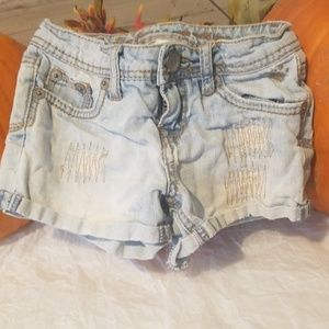 Lil girls justice shorts